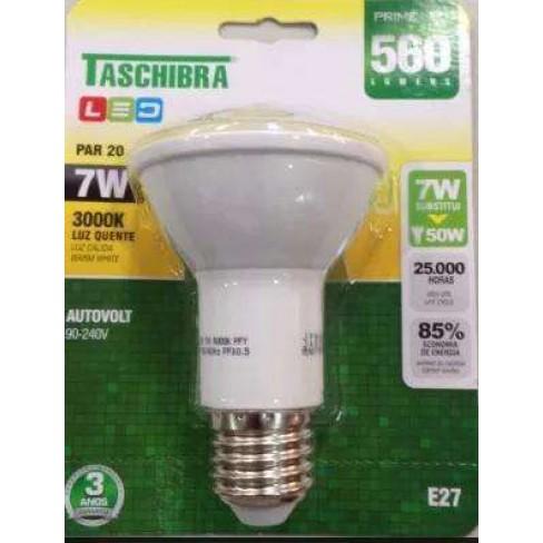 LAMPADA TASCHIBRA LED PAR20 3000K