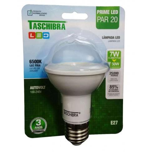 LAMPADA TASCHIBRA LED PAR20 6500K