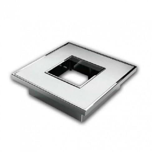 PUXADOR ZEN ZP0809 SQUARE 38MM INOX