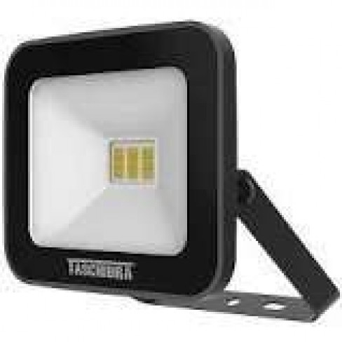REFLETOR TASCHIBRA LED SLIM 10W 6500K PRETO