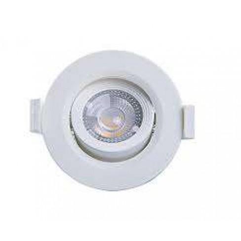 SPOT TASCHIBRA LED EMBUTIDO MR11 3W 3000K REDONDO