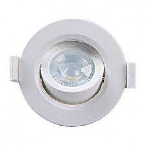 SPOT TASCHIBRA LED EMBUTIDO MR16 5W 3000K REDONDO